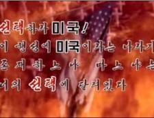 Coreea de Nord a difuzat un videoclip in care arata cum distruge Washingtonul cu arme nucleare (Video)