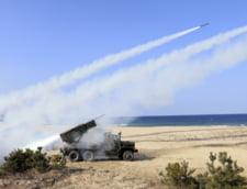 "Coreea de Nord a lansat 25 de rachete, in semn de ""protest armat"""
