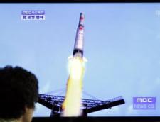 Coreea de Nord a lansat trei rachete