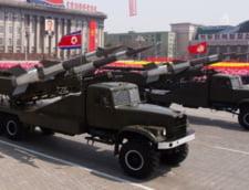 Coreea de Nord linisteste lumea: Si-a retras doua rachete gata de lansare