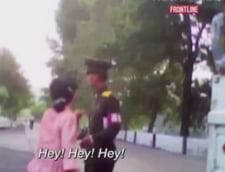 Coreea de Nord vazuta prin camera ascunsa: Femeile protesteaza atunci cand sunt acuzate pe nedrept (Video)
