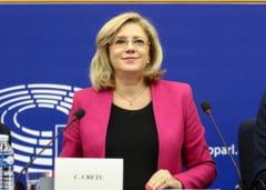 Corina Cretu: Romania beneficiaza de fonduri UE de 30,8 miliarde de euro, din care a accesat 7,9 miliarde