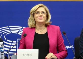 Corina Cretu face luni si marti o vizita la Bucuresti