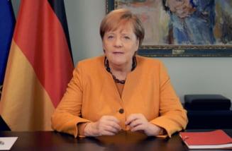 Coronavirus: Angela Merkel avertizeaza ca urmeaza luni ''foarte, foarte grele'' pentru Germania