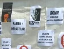 Cort amplasat in Piata Universitatii de Ziua Internationala a rromilor, vandalizat
