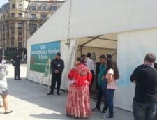 Cort vandalizat cu mesaje rasiste, de Ziua Internationala a Rromilor: Trei persoane retinute