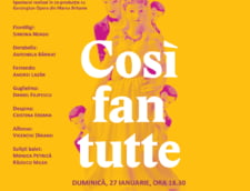 Cosi fan tutte de Mozart, pe scena Operei Nationale Bucuresti