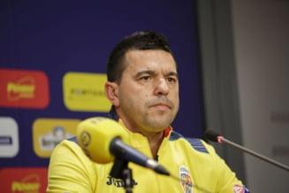 Cosmin Contra a prefatat meciul dintre Romania si Spania