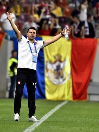 Cosmin Contra le-a tinut un discurs de adio jucatorilor sai de la Dinamo - surse