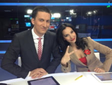 Cosmin Stan si Melania Medeleanu vor prezenta stiri la Prima Tv