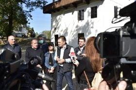 """Cosmin Vasile, presedintele Consiliului Judetean Dolj : """"Ma bucur ca am reusit sa refacem un monument istoric"""""""