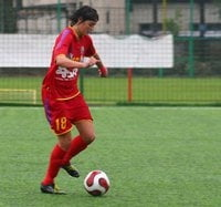 "Cosmina Dusa, ""galactica"" fotbalului feminin romanesc"