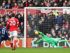 Costel Pantilimon apara un penalti in Anglia, pentru Nottingham Forest (Video)