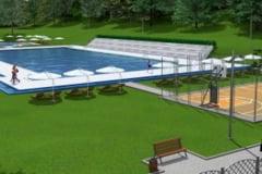 Costul modernizarii strandului Codrisor: peste 1,3 milioane euro! Se acopera cu folie ce costa 400.000 de euro
