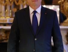 Cota de popularitate a lui Hollande a crescut dupa atentatele din Franta