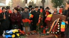 Craciun la mormantul lui Nicolae Ceausescu