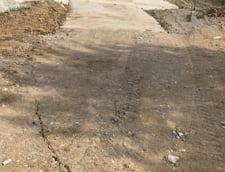 Crapatura aparuta pe Lotul 3 al Autostrazii Lugoj Deva