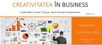 Creativitate, Inovare, Pasiune - Noul concept antreprenorial