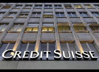 Credit Suisse Bank concediaza 5.300 de angajati