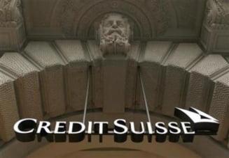 Credit Suisse are profit dupa pierderile record din 2008