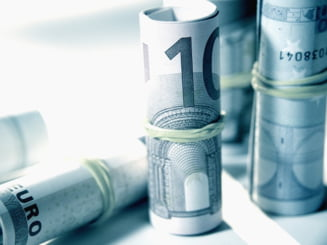 Creditarea in euro a scazut semnificativ pe fondul deprecierii leului
