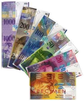 Creditele in franci elvetieni vor putea fi trecute in lei la cursul din ziua in care au fost luate