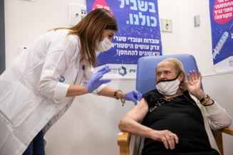 """Crestere rapida a numarului de infectii in Israel in ciuda vaccinarii rapide. """"Prima doza este mai putin eficienta decat credeam"""""""