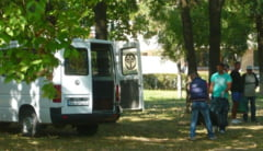 Crima in parcul Tabacariei. Cadavrul gasit printre copaci