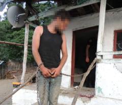 Crima infioratoare la Tufeni. Unul dintre fostii sclavi de la Berevoiesti si-a omorat tatal