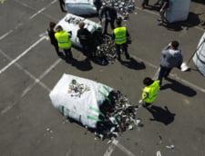 Crima organizata face presiuni la granita ca sa introduca cantitati mari de deseuri in tara. Anuntul sefului Garzii de Mediu