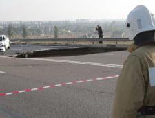 Crimeea, o capcana: Au cazut cu masina intr-o gropa uriasa de pe autostrada - 6 morti (Video)