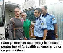 Criminalii din Prundu, transferati la Rahova