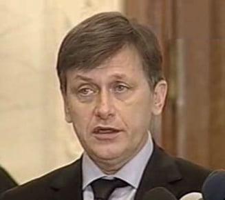 Crin Antonescu: Nu am gasit posibilitatea unei intelegeri cu PD-L