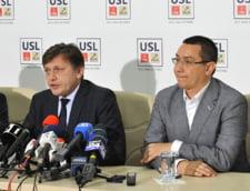Crin Antonescu, Victor Ponta, liderii USL
