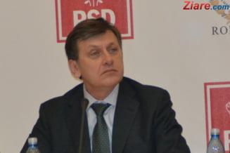 Crin Antonescu preia marti functia de presedinte interimar