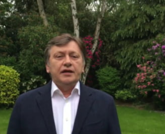 Crin Antonescu revine in atentia publicului cu un mesaj video pentru PNL