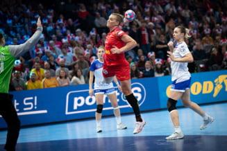 Crina Pintea a fost aleasa in echipa ideala a Campionatului European de handbal