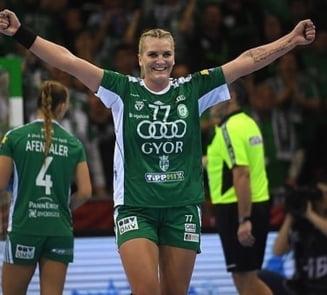 Crina Pintea castiga alaturi de Gyor Liga Campionilor la handbal feminin