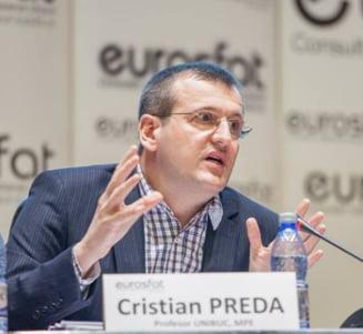 Cristian Preda a venit de la Bruxelles pentru a-si apara Onoarea, dar patru membri ai Consiliului au chiulit. Decizia s-a amanat