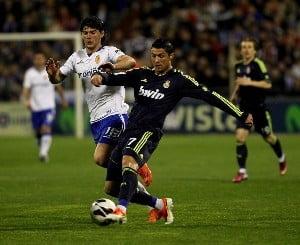 Cristian Sapunaru, egalul lui Cristiano Ronaldo