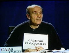 """Cristian Tudor Popescu = """"gazetar gaozar"""""""