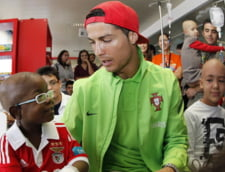 "Cristiano Ronaldo, ""umilit"" in propria tara (video)"