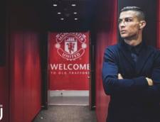 Cristiano Ronaldo, aparitie spectaculoasa la Manchester