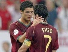 Cristiano Ronaldo, criticat dur de Figo