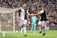Cristiano Ronaldo, criza de nervi la primul amical al lui Juve. Sarri l-a scos de pe teren la trei minute de la marcarea golului (Video)