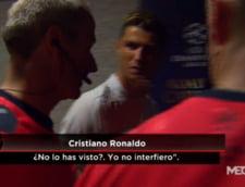 Cristiano Ronaldo, dialog cu arbitrul despre golul din offside cu Atletico
