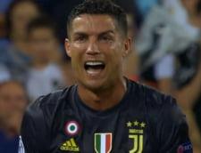 Cristiano Ronaldo, eliminat in Liga Campionilor: S-a prabusit pe gazon si a inceput sa planga in hohote!