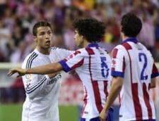 Cristiano Ronaldo, gest de o violenta extrema in meciul din Supercupa Spaniei (Video)