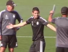 Cristiano Ronaldo, gest incalificabil la adresa lui James Rodriguez