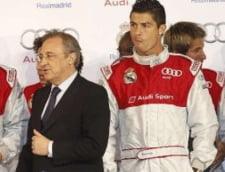 "Cristiano Ronaldo, la cutite cu presedintele lui Real Madrid: ""Lasa-ma sa plec"""